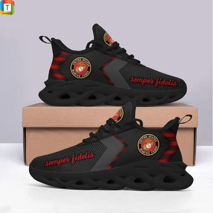 US marine semper fidelis max soul shoes 1