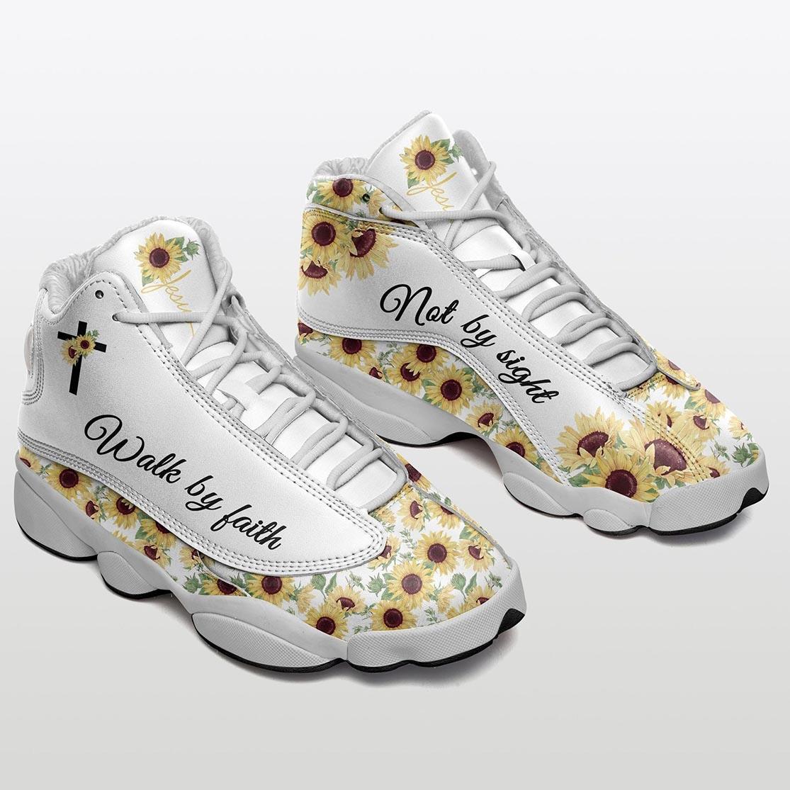 Walk by faith Sunflower AJD 13 sneaker