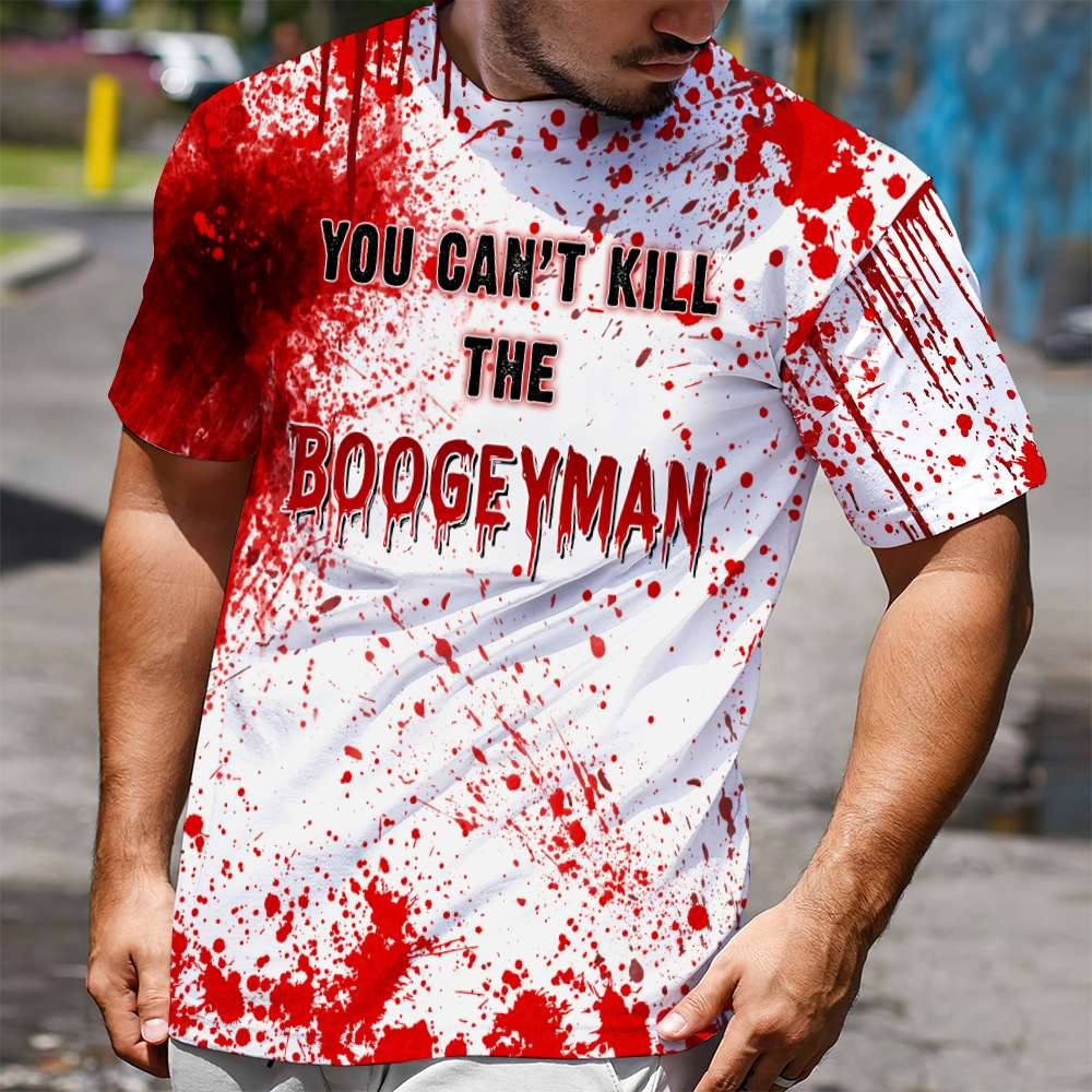 You can't kill the boogeyman 3D All Over Print Shirt, Hoodie And Sweatshirt 1