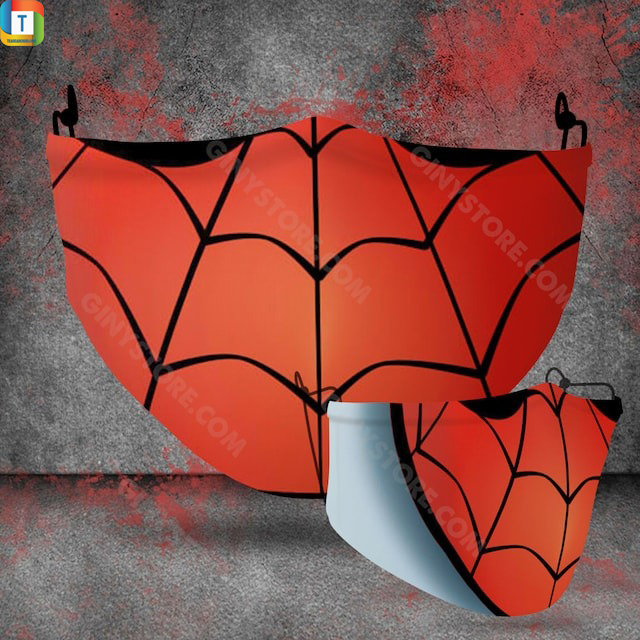 Spider Man halloween 3d face mask face cover