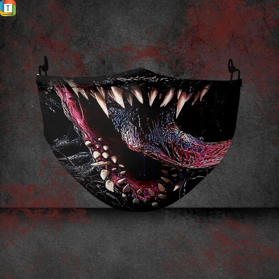 Venom marvel halloween 3d face mask face cover