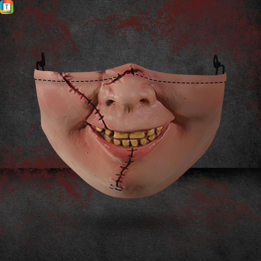 Chucky halloween 3d face mask face cover