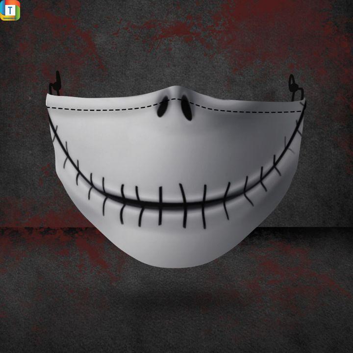 Jack Skellington halloween 3d face mask face cover