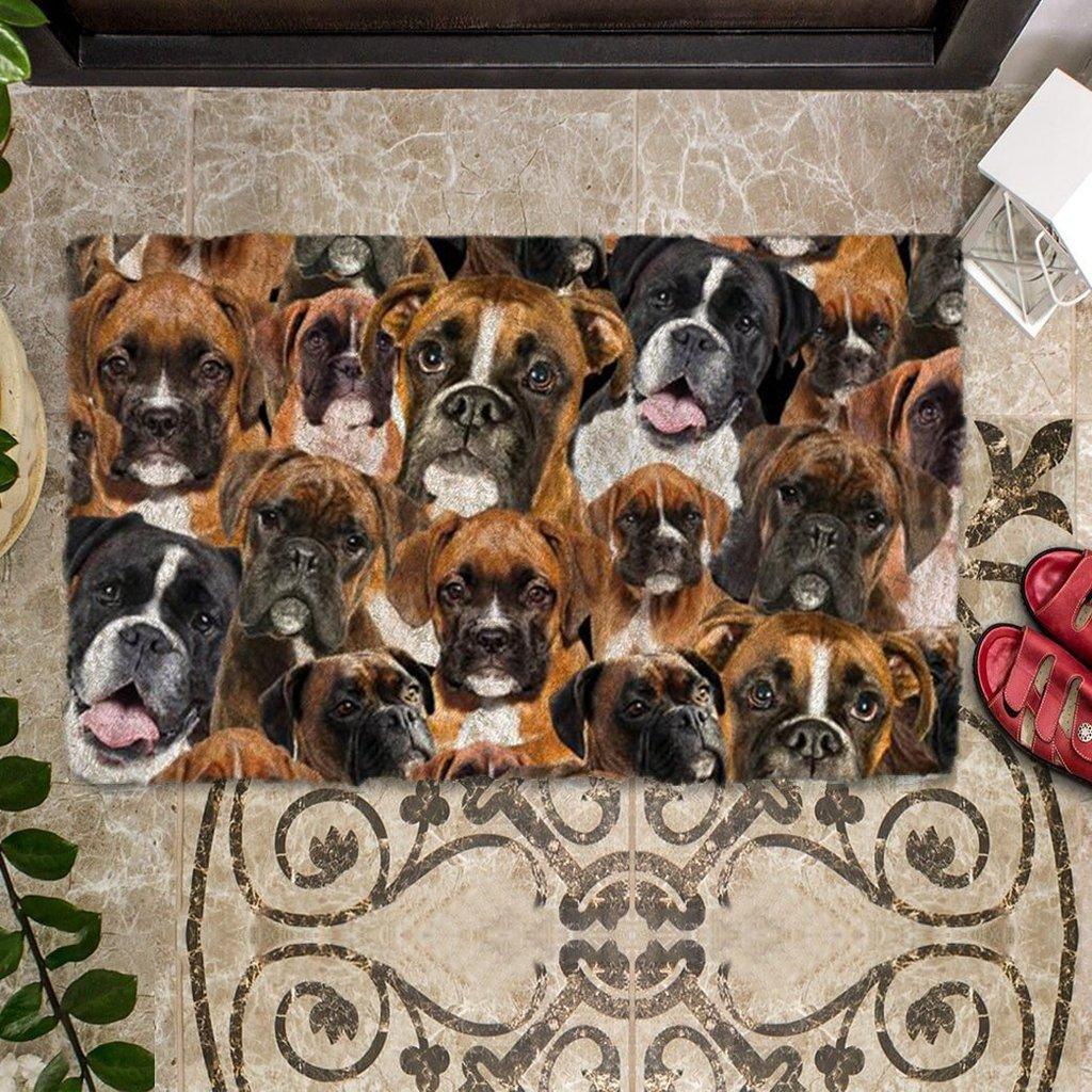 A Bunch Of Boxers Doormat 1