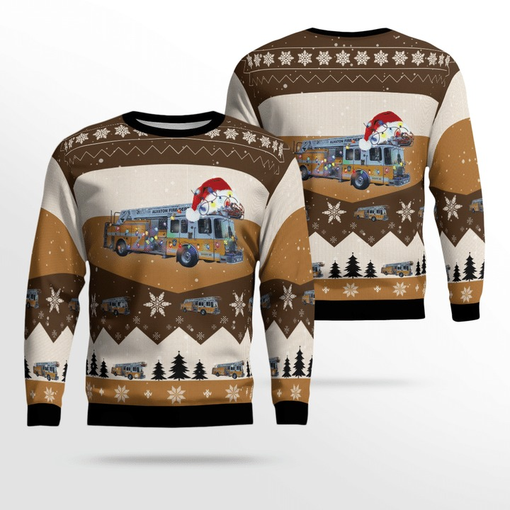 Alvaton Fire Department Christmas Sweater