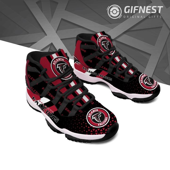 Atlanta falcons Air jordan 11 Shoes 2