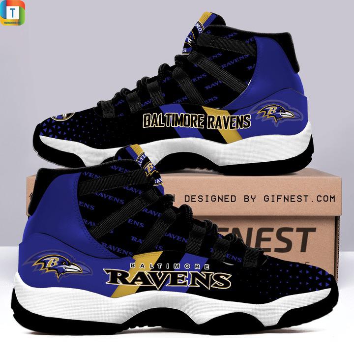 Baltimore ravens Air jordan 11 Shoes