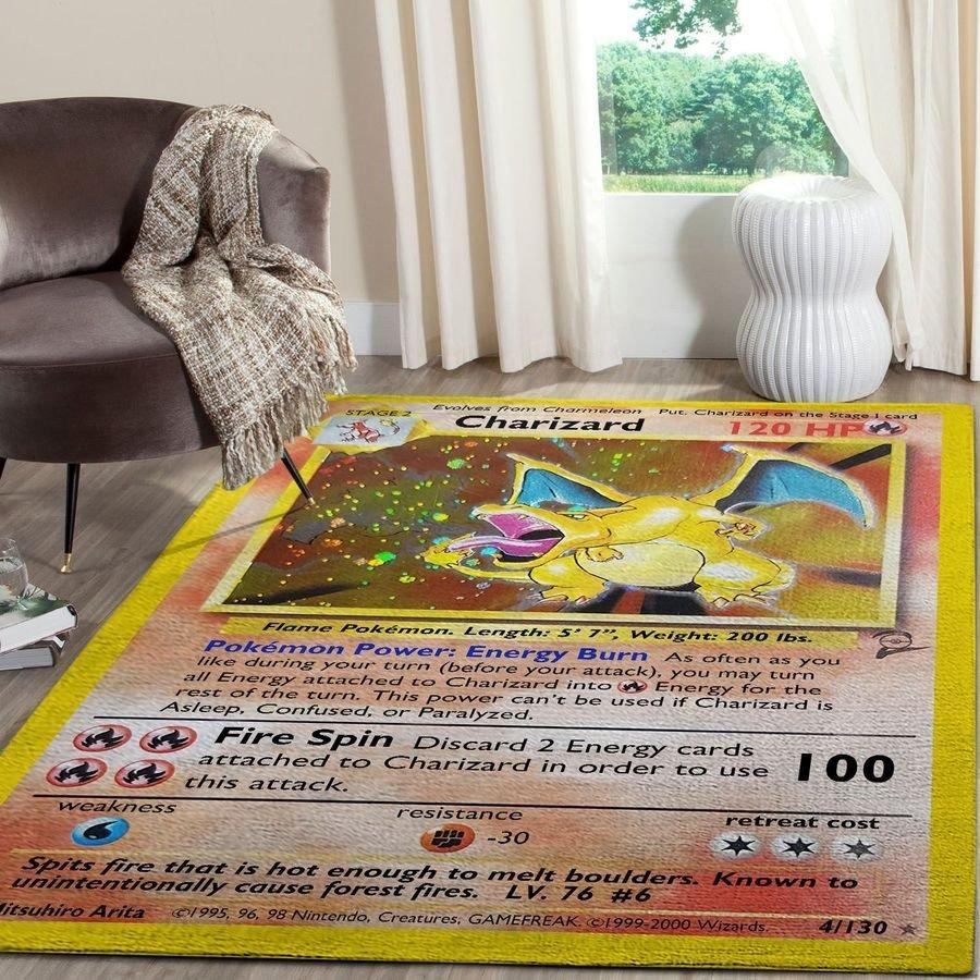 Charizard pokemon rug 3