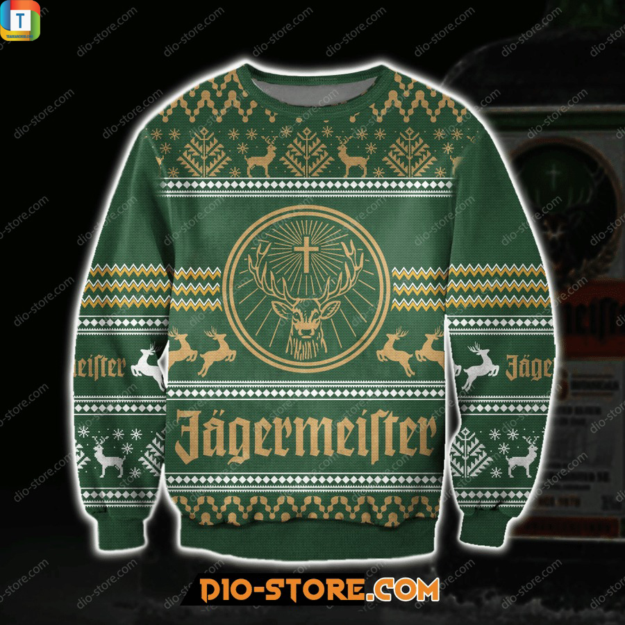 Jagermeister ugly sweater