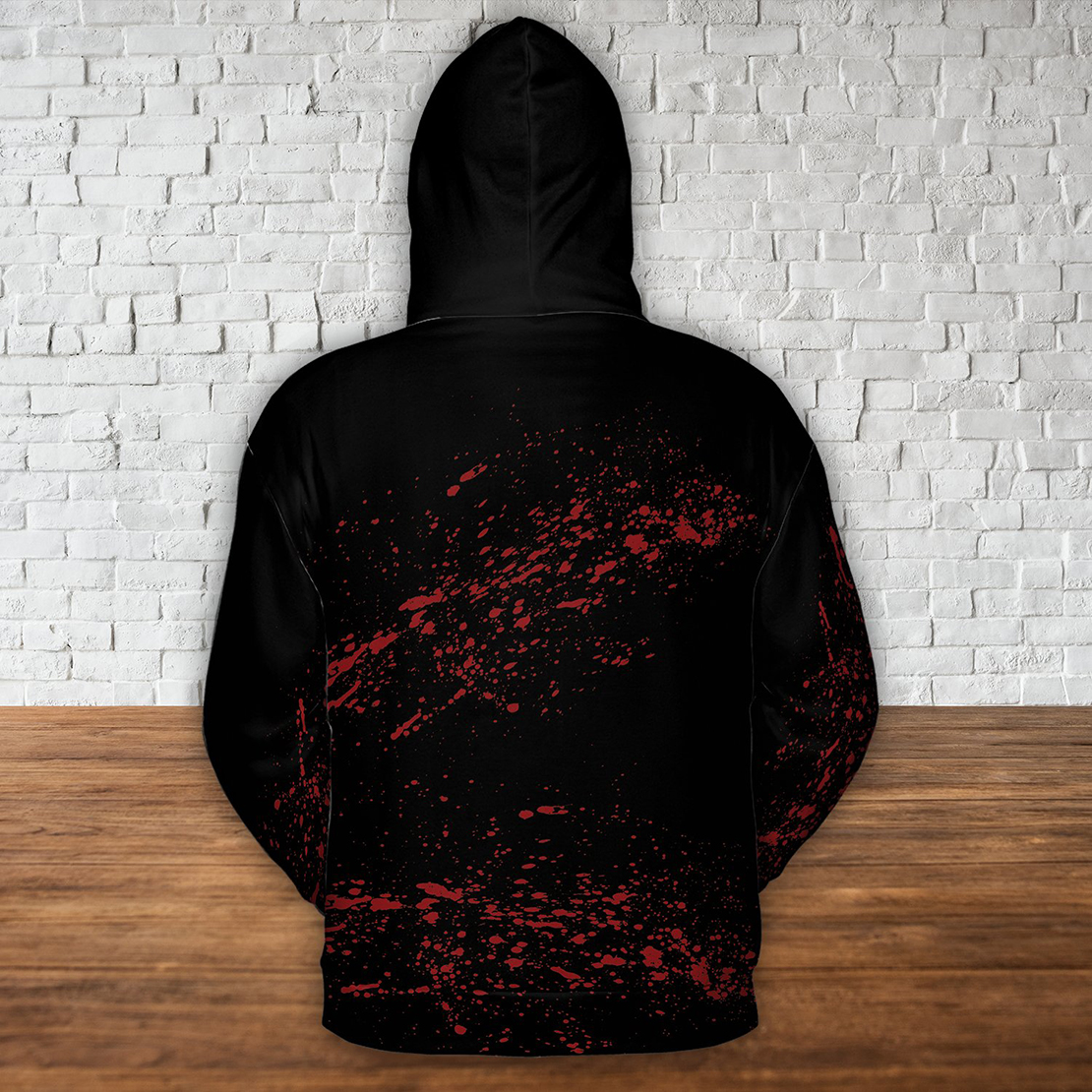 Just a girl who loves horror movies all over print hoodie