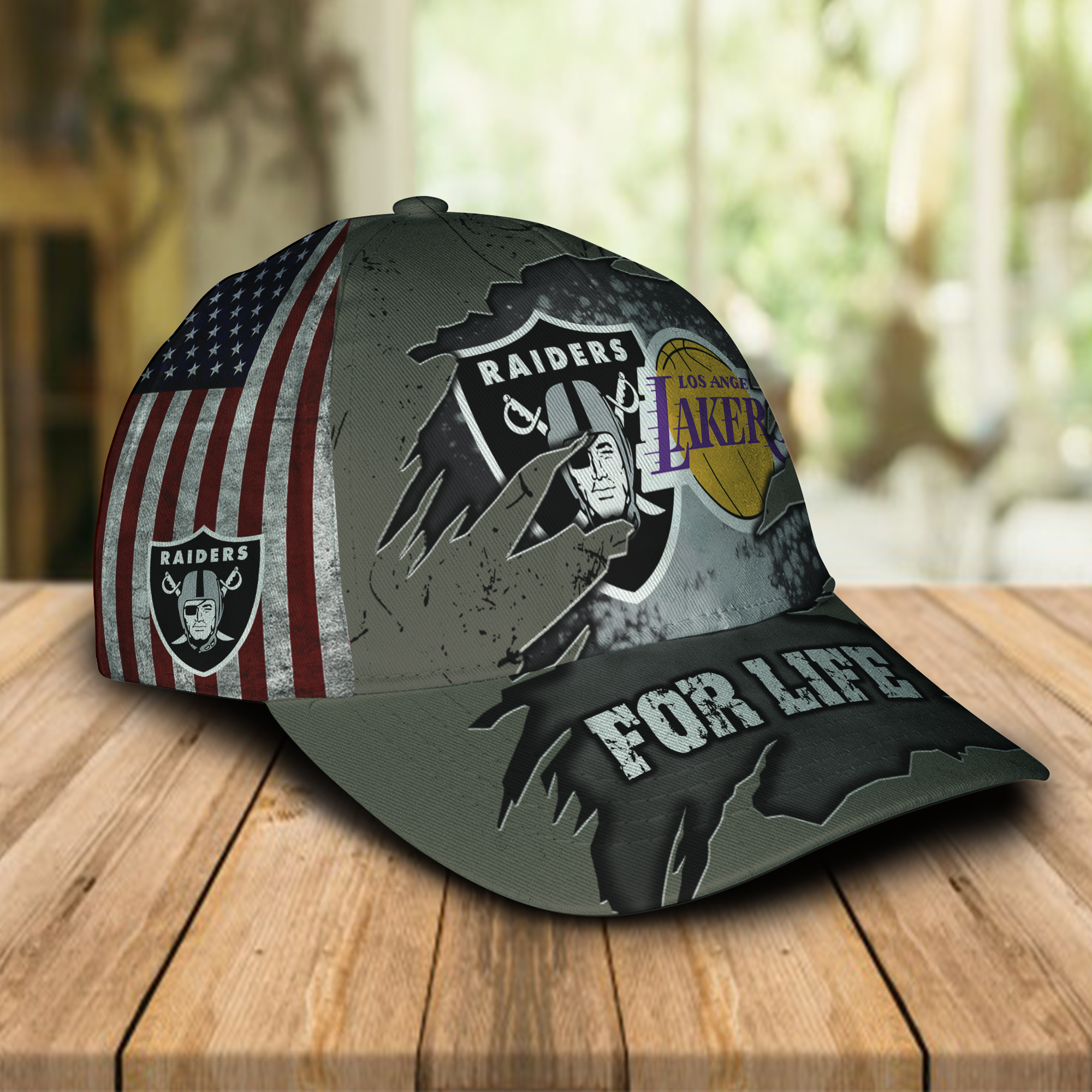 Las Vegas Raiders And Los Angeles Lakers For Life
