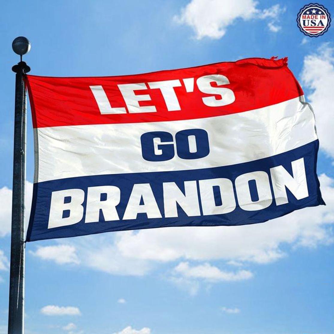 Let's go Brandon flag