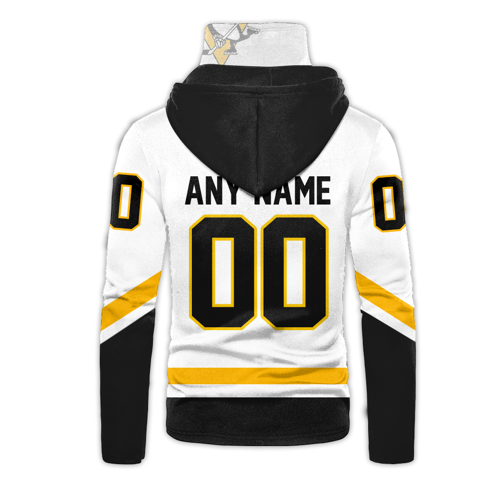 NHL Pittsburgh Penguins Personalized 3D Hoodie Mask