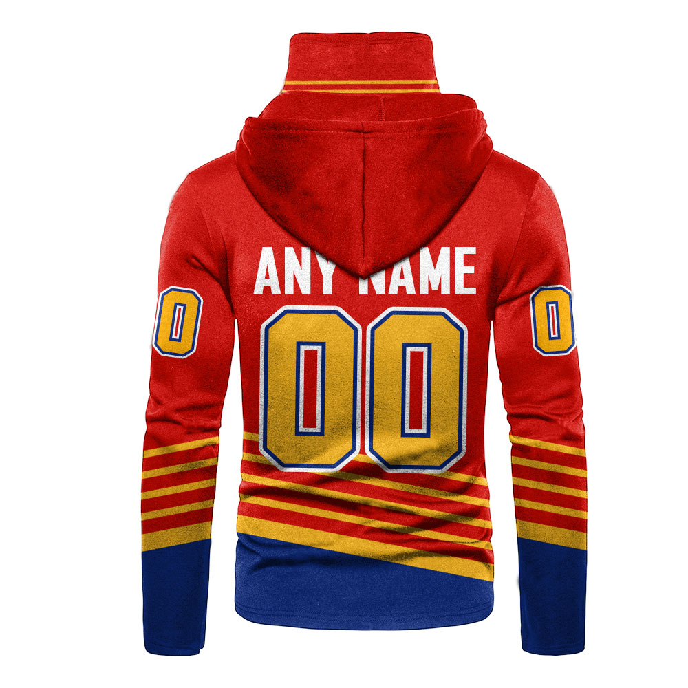 NHL St. Louis Blues Personalized 3D Hoodie Mask