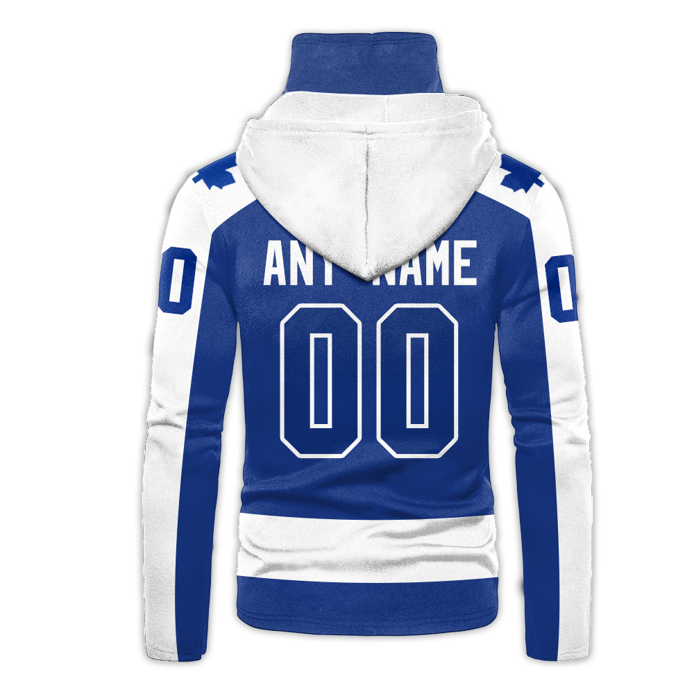 NHL Toronto Maple Leafs Personalized 3D Hoodie Mask