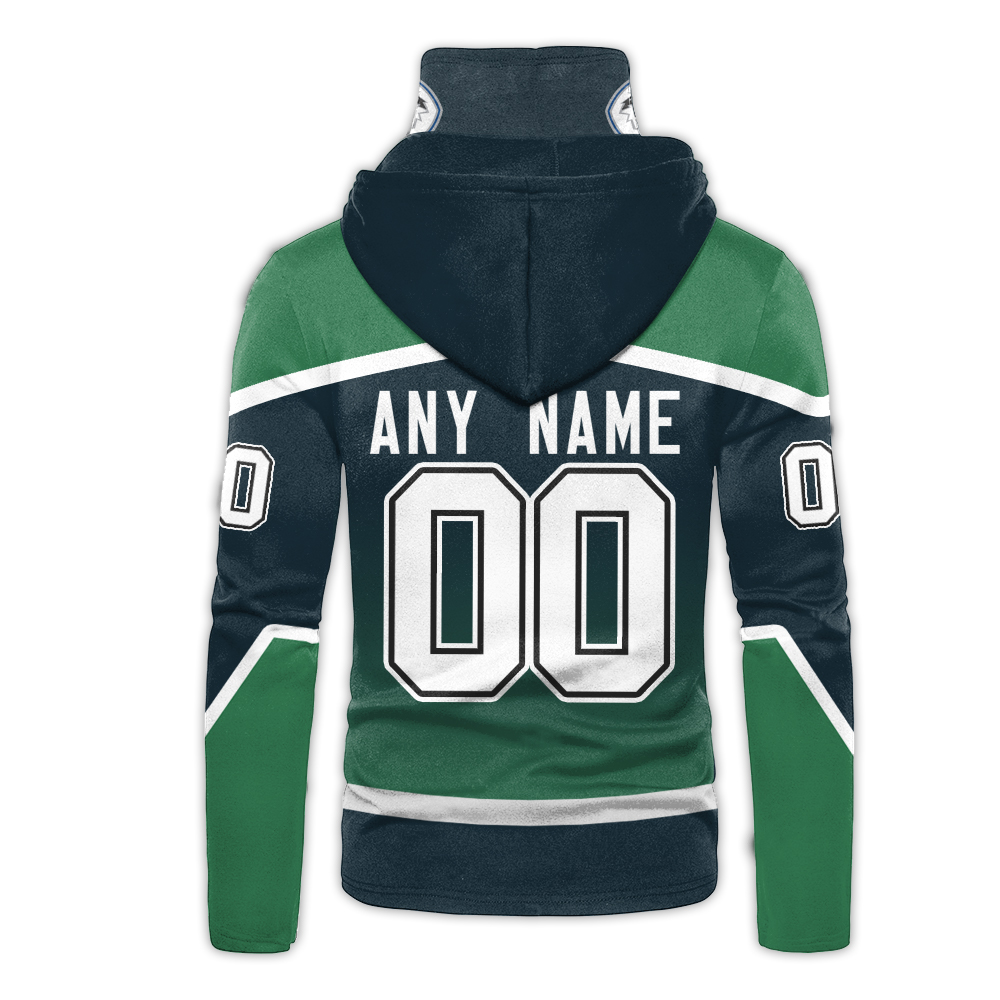 NHL Vancouver Canucks Personalized 3D Hoodie Mask