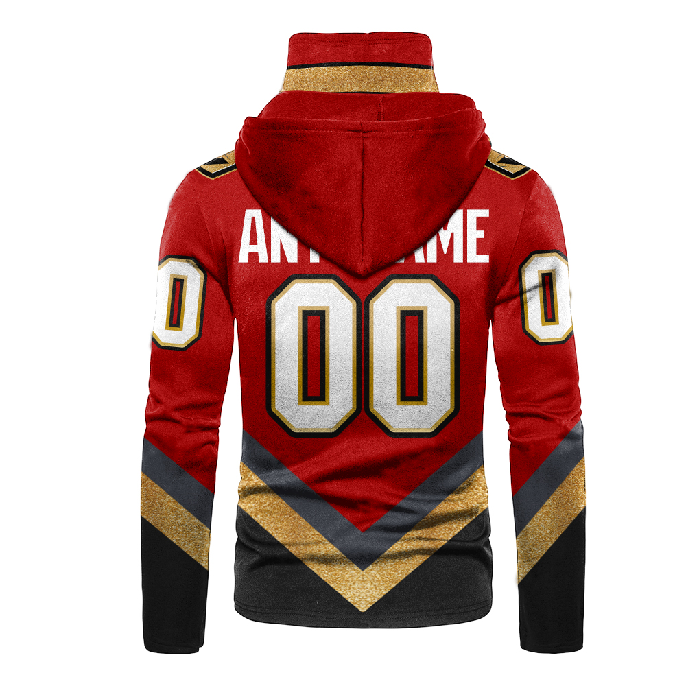 NHL Vegas Golden Knights Personalized 3D Hoodie Mask