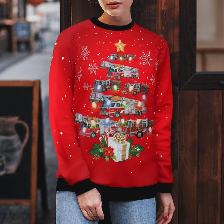 North Phoenix Arizona Daisy Mountain Fire & Medical Christmas Sweater