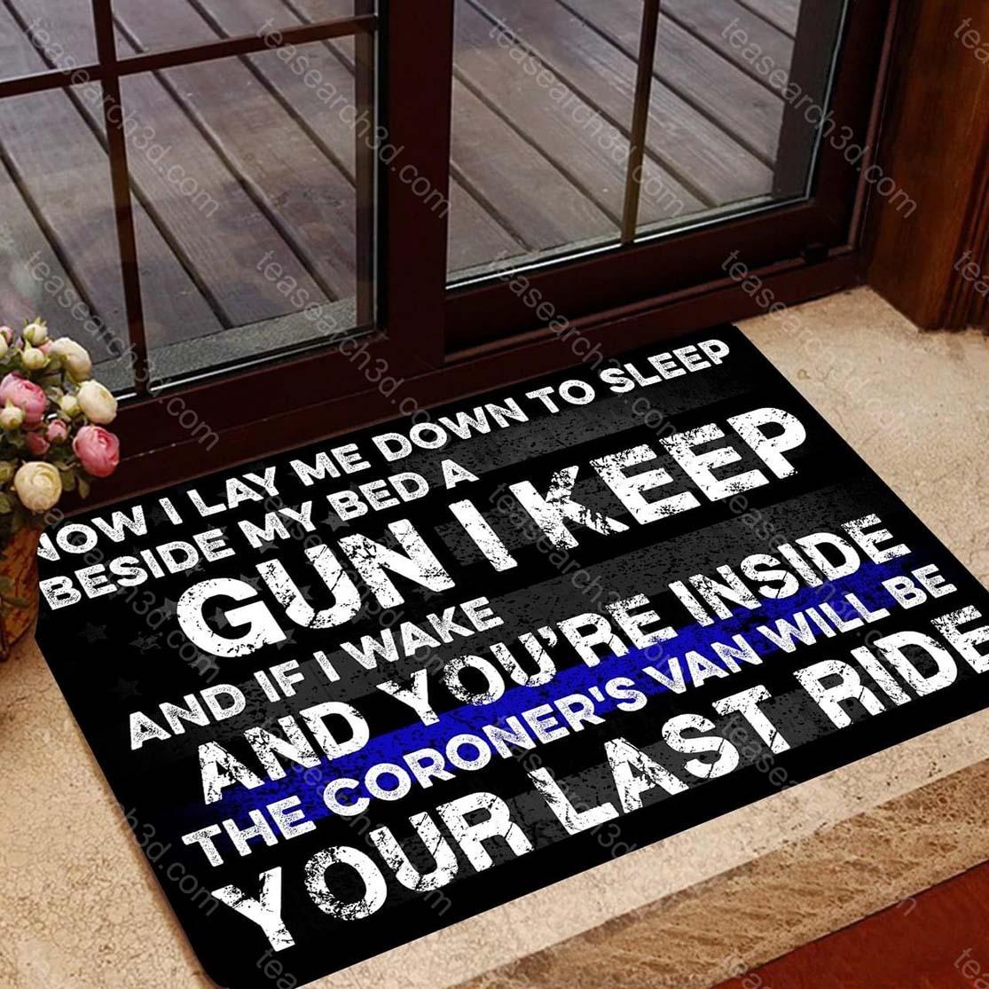 Now I lay me down to sleep doormat
