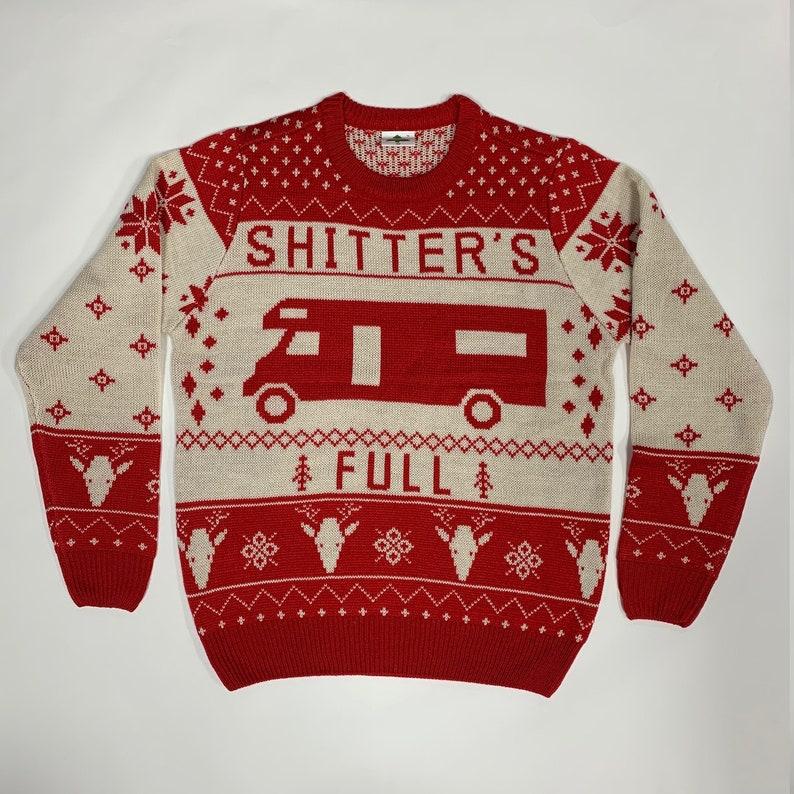 Shitter's Full Ugly Christmas Sweater